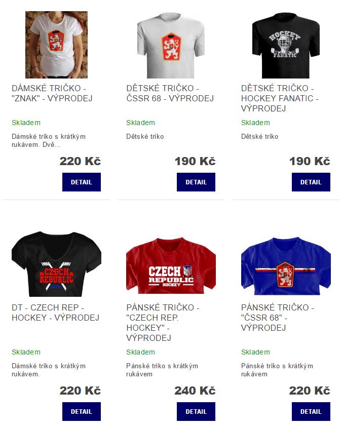 Výprodej a SLEVY - nová kategorie eshopu - Hockey Factory a3c8052e93